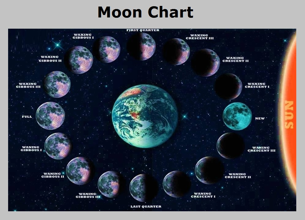 Moon Phase Chart | New Calendar Template Site